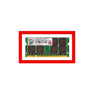 Transcend JetRam ノートPC用増設メモリ PC2-5300(DDR2-667) 2GB  JM667QSU-2G