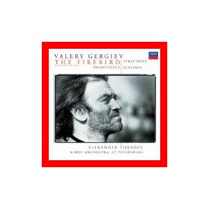 ストラヴィンスキー:火の鳥/スクリャービン:プロメテウス [CD] ゲルギエフ(ワレリー); マリインスキー劇場合唱団; ストラヴィンスキー;…