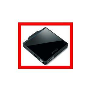 BUFFALO USB2.0用 ポータブルDVDドライブ Wケーブル収納タイプ ブラック DVSM-PC58U2V-BKC