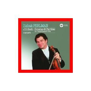 バッハ:無伴奏ヴァイオリン・ソナタ&パルティータ(全曲) [CD] パールマン(イツァーク); バッハ