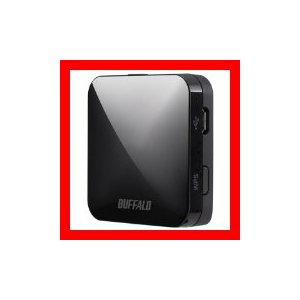 QRsetup エアステーション 11ac n a g b 433 150Mbps 無線LAN親機 ブラック WMR-433-BKの商品画像