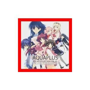【 商品名 】 AQUA PLUS VOCAL COLLECTION VOL.10 [CD] ゲーム...