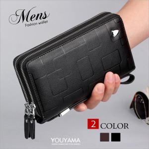 商品名  長財布 財布 メンズ ビジネス財布 ウォレット 二つ折り財布 紳士用 大容量 メンズ財布 ...