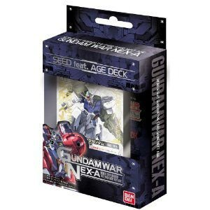『新品即納』{TCG}ガンダムウォーNEX-A 構築済みデッキ SEED FEAT. AGE DECK(20111021)|media-world