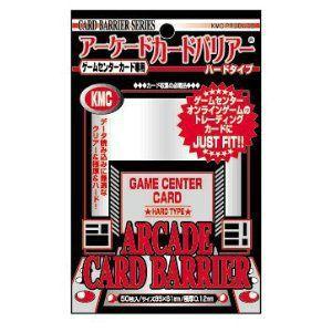 『新品即納』{TCG}アーケードカードバリアー ハードタイプ 50枚入り KMC|media-world