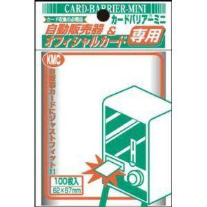『新品即納』{TCG}カードバリアーミニ 透明 100枚入り KMC(20040605)|media-world