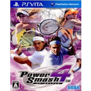 『新品即納』{PSVita}パワースマッシュ4 POWER SMASH4(20111217) media-world