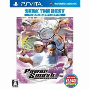 『新品即納』{PSVita}パワースマッシュ4(Power Smash 4) SEGA THE BEST(VLJM-30025)(20121129) media-world