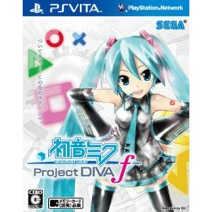 『新品即納』{PSVita}初音ミク -Project DIVA- f HATSUNE MIKU プロジェクトディーヴァ エフ(20120830) media-world
