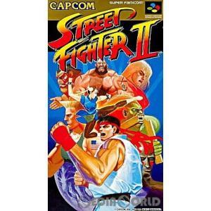 『中古即納』{箱説明書なし}{SFC}ストリートファイターII(STREET FIGHTER 2 The World Warrior)(19920610)|media-world