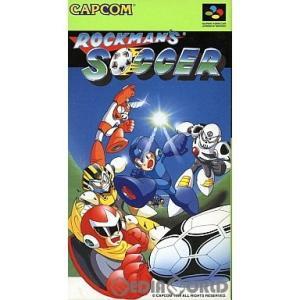 『中古即納』{箱説明書なし}{SFC}ロックマンズサッカー(ROCKMAN'S SOCCER)(19940325)|media-world