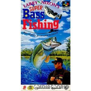『中古即納』{箱説明書なし}{SFC}ラリー・ニクソン スーパー・バスフィッシング(LARRY NIXON'S SUPER Bass Fissing)(19940922)|media-world