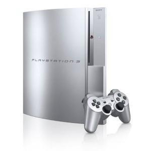 『中古即納』{本体}{PS3}プレイステーション3 PlayStation3 HDD80GB サテン・シルバー(CECH-L00SS)(20081130)|media-world