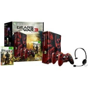 『中古即納』{箱難あり}{本体}{Xbox360}Xbox360 320GB Gears of War 3(ギアーズ オブ ウォー3) リミテッドエディション(S4K-00012)(20110922)|media-world