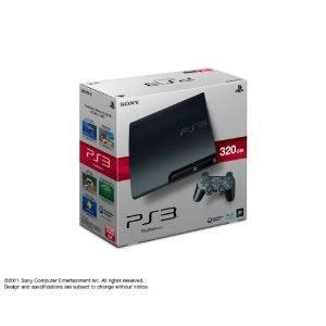 『中古即納』{本体}{PS3}プレイステーション3 PlayStation3 HDD320GB チャコール・ブラック(CECH-3000B)(20110625)|media-world