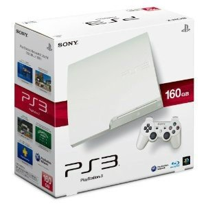 『中古即納』{本体}{PS3}プレイステーション3 PlayStation3 HDD160GB クラシック・ホワイト(CECH-3000ALW)(20110908)|media-world