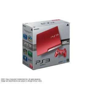 『中古即納』{本体}{PS3}プレイステーション3 PlayStation3 HDD320GB スカーレット・レッド(CECH-3000BSR)(20111117)|media-world
