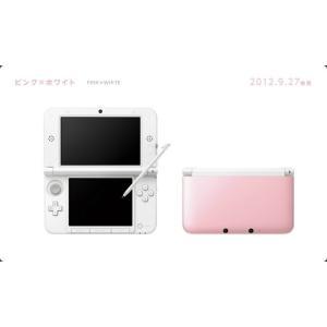 『中古即納』{本体}{3DS}ニンテンドー3DS LL ピンク×ホワイト(SPR-S-PAAA)(20120927)|media-world