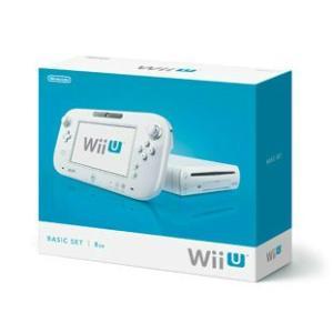 『中古即納』{本体}{WiiU}Wii U ベーシックセット 白 BASIC SET Shiro(本体メモリー8GB)(WUP-S-WAAA)(20121208)