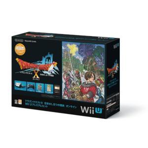 『中古即納』{本体}{WiiU}ドラゴンクエストX 目覚めし五つの種族 オンライン Wii Uプレミアムセット(kuro/クロ/黒)(WUP-S-KAFJ)(20130330)|media-world