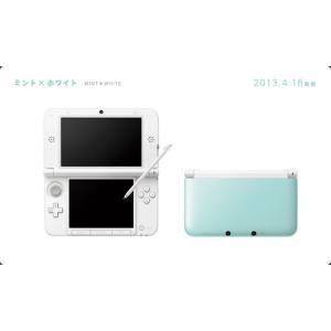 『中古即納』{本体}{3DS}ニンテンドー3DS LL ミントXホワイト(SPR-S-MAAA)(20130418)|media-world