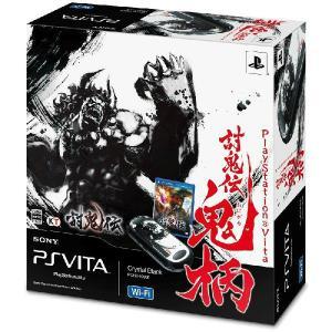 『中古即納』{本体}{PSVita}PlayStation Vita 討鬼伝 鬼柄(おにがら) Wi-Fiモデル(PCHJ-10008)(20130627)|media-world