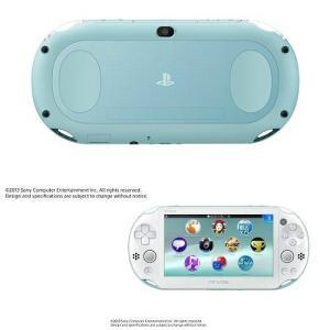 『中古即納』{本体}{PSVita}PlayStationVita Wi-Fiモデル ライトブルー/ホワイト(PCH-2000ZA14)(20131010)