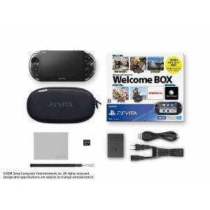 『中古即納』{本体}{PSVita}PlayStation Vita Wi-Fiモデル Welcome BOX(ウェルカムボックス)(PCHJ-10016)(20140306)|media-world