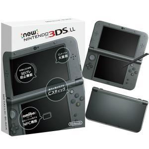 『新品即納』{本体}{3DS}Newニンテンドー3DS LL メタリックブラック(RED-S-VAAA)(20141011)