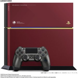 『中古即納』{本体}{PS4}プレイステーション4 PlayStation 4 METAL GEAR SOLID V LIMITED PACK THE PHANTOM PAIN EDITION(CUHJ-10009)(20150902)|media-world