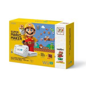 『中古即納』{本体}{WiiU}Wii U スーパーマリオメーカー スーパーマリオ30周年セット(WUP-S-WAGZ)(20150910)|media-world