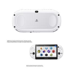 『中古即納』{本体}{PSVita}PlayStationVita Wi-Fiモデル グレイシャー・ホワイト(PCH-2000ZA22)(20150917)