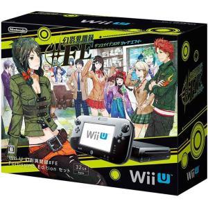 『中古即納』{本体}{WiiU}Wii U 幻影異聞録#FE Fortissimo Edition セット(Wii Uプレミアムセット黒/kuro/クロ同梱版)(WUP-S-KAHN)(20151226)|media-world