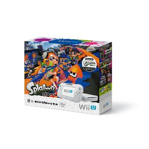 『中古即納』{本体}{WiiU}Wii U スプラトゥーン セット(WUP-S-WAGY)(20151112) media-world
