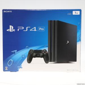 『中古即納』{本体}{PS4}プレイステーション4 プロ PlayStation4 Pro 1TB ジェット・ブラック(CUH-7000BB01)(20161110)