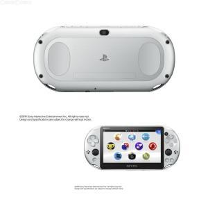 『新品即納』{本体}{PSVita}PlayStationVita Wi-Fiモデル シルバー(PCH-2000ZA25)(20161201)