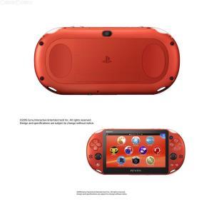 『新品即納』{本体}{PSVita}PlayStationVita Wi-Fiモデル メタリック・レッド(PCH-2000ZA26)(20161201)