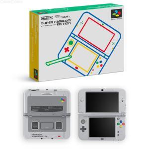 『中古即納』{本体}{3DS}Newニンテンドー3DS LL スーパーファミコン エディション(RED-S-GBAA)(20160731)