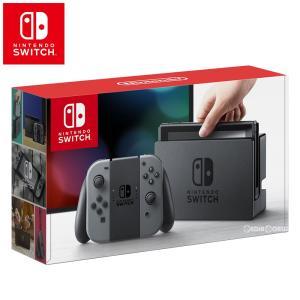 『新品即納』{本体}{Switch}Nintendo Switch(ニンテンドースイッチ) Joy-Con(L)/(R) グレー(HAC-S-KAAAA)(20170303)|media-world