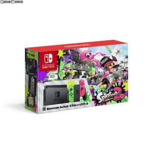 『中古即納』{本体}{Switch}Nintendo Switch(ニンテンドースイッチ) スプラトゥーン2セット(HAC-S-KACEA)(20170721)|media-world