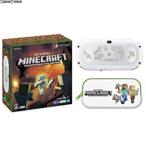 『中古即納』{本体}{PSVita}PlayStation Vita Minecraft(マインクラフト) Special Edition Bundle(PCHJ-10031)(20170727)|media-world