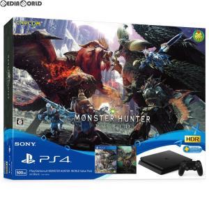 『中古即納』{本体}{PS4}プレイステーション4 PlayStation4 MONSTER HUNTER: WORLD Value Pack(モンスターハンター:ワールド バリューパック)(CUHJ-10026) media-world