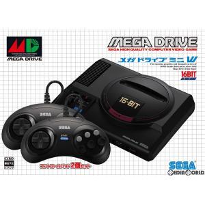 『予約前日出荷』{本体}{MD}メガドライブミニ W(ダブル) Mega Drive Mini W(HAA-2523)(20190919)|media-world