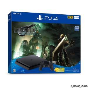 『中古即納』{本体}{PS4}プレイステーション4 PlayStation4 FINAL FANTASY VII REMAKE Pack(ファイナルファンタジー7 リメイクパック) 500GB(CUHJ-10035)|media-world