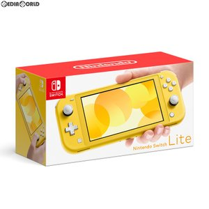 『中古即納』{未使用}{本体}{Switch}Nintendo Switch Lite(ニンテンドースイッチライト) イエロー(HDH-S-YAZAA)(20190920)|media-world