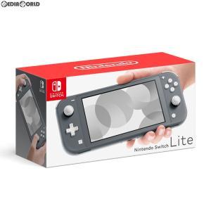 『中古即納』{未使用}{本体}{Switch}Nintendo Switch Lite(ニンテンドースイッチライト) グレー(HDH-S-GAZAA)(20190920)|media-world