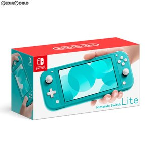 『中古即納』{未使用}{本体}{Switch}Nintendo Switch Lite(ニンテンドースイッチライト) ターコイズ(HDH-S-BAZAA)(20190920)|media-world
