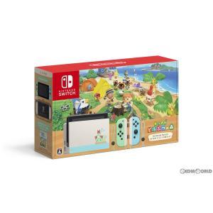 『中古即納』{未使用}{本体}{Switch}Nintendo Switch(ニンテンドースイッチ) あつまれ どうぶつの森セット(HAD-S-KEAGC)(20200320)|media-world