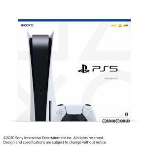 『中古即納』{未使用}{本体}{PS5}プレイステーション5 PlayStation5(CFI-1000A01)(20201112)|media-world
