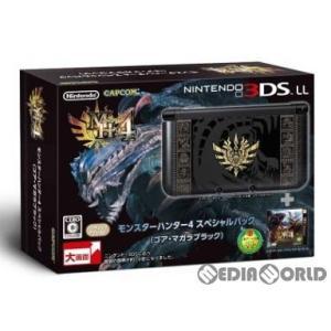 『中古即納』{本体}{3DS}モンスターハンター4 スペシャルパック (ゴア・マガラブラック)(SPR-S-KNCD)(3DSLL本体同梱版)(20130914)|media-world